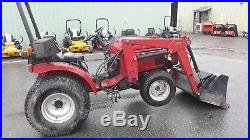 1991 Case IH 1120 Tractor loader 60 mower 19 HP diesel 4x4 HST used compact