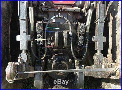 1991 Case IH 7140 Tractor 190hp Cummins 18 Speed Powershift Transmission