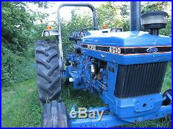 1991 Ford 6610 tractor wih less than 500 hours. Great condition