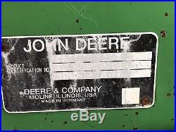 1991 JOHN DEERE 6310 With Boom Mower