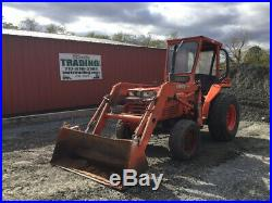 1992 Kubota L2850 4x4 Diesel Compact Tractor with Loader