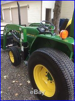 1994 4 wheel drive John Deere 870 With Loader