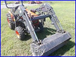 1994 Kioti LB1914 compact tractor 20 hp Daedong Diesel 4x4 PTO used 517 hours