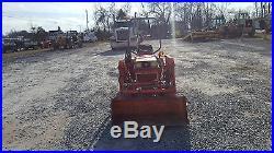 1994 Kubota B1550 4x4 Compact Tractor with Loader & Mower