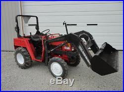 1995 Belarus 220 4wd Diesel Compact Tractor & Loader