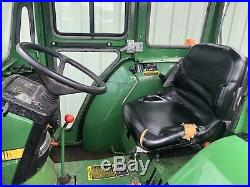 1995 John Deere 1070 4x4 Compact Tractor Cab, Low Hours. Clean! Cheap Shipping