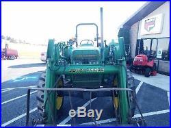 1995 John Deere 5400 Tractor Loader 68 HP 3 Cylinder Diesel 4wd 2800 Hours