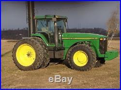 1995 John Deere 8300 4WD Tractor Farming Mining Construction