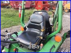 1995 John Deere 955 Tractor w loader/backhoe, 4WD, Hydro