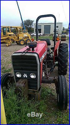 1997 Massey Ferguson 231 Tractor S/N F45012 With 6' John Deere Mower