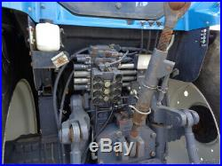 1997 New Holland 8670 Genesis, Cab/Heat/Air, 4WD, Super Steer, 5,473 Hours