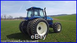 1997 New Holland Ford 8970 Ag Tractor Diesel Cabbed PTO Dual Tires 4x4 Farming