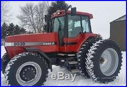1998 Case IH 8930 Tractor 180hp Cummins MFWD Deluxe Cab Front Weights