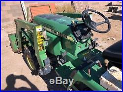 1998 John Deere 855 Tractor Loader Backhoe