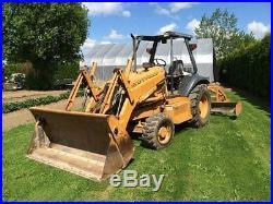 1999 Case 570 LXT Loader/Grader Tractor Diesel 4x4