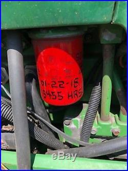 1999 John Deere 6410 Farm Tractor 4x4 A/C flail boom mower Municipality
