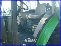 1 OWNER 2007 JOHN DEERE 5603+CAB+LOADER+4X4 WITH 1,307HRS! VERY GOOD CONDITION