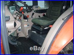 1 OWNER 2008 KUBOTA M5040 CAB+LOADER+4X4 WITH 631HRS. MINT CONDITION