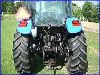 1 OWNER 2008 NEW HOLLAND TD80D CAB+LOADER+4X4 WITH 843HOURS! NICE! @@@