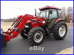 1 Owner 2012 Case Farmall 95 Cab+ Loader+ 4x4 With 1,114 Hours+ Mint Condition