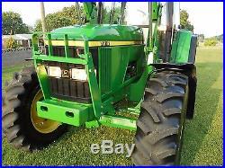 1 Owner John Deere 7210 Cab+ Loader+ 4x4 2001 Year- 110hp Nice And Original