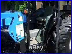 1 OWNER- NEW HOLLAND TN65D CAB+LOADER+4X4 WITH 550HOURS! MINT CONDITION! @@@@@