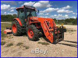 1-Owner Kubota 2016 M5 Loader Tractor 4X4 212 hours - with Attachments