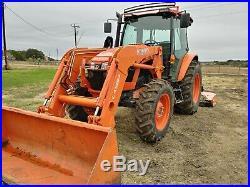 1-Owner Kubota 2016 M5 Tractor 4X4 220 hours
