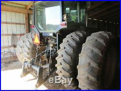 1-owner Deutz-Allis 9170 MFWD tractor withcab. 3-point quick hitch