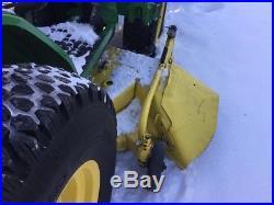 2000 John Deere 4100 Tractor Loaders