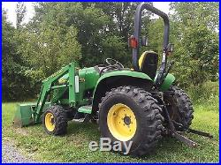 2000 John Deere 4200 4x4 Diesel Low Hours Tractor Loader Cheap Shipping Rates