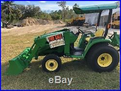 2000 John Deere 4200 Tractor Loader 4x4 HST 700 Hours