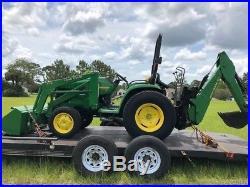 2000 John Deere 4400 4x4 Compact Tractor Loader Backhoe Coming Soon