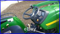 2000 John Deere Tractor 4610 4x4 Loader Backhoe