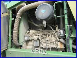 2000 Krone Big M 30' self propelled disc hay mower conditioner