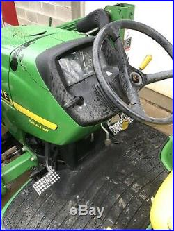 2001 JOHN DEERE 4200 DIESEL TRACTOR 4WD FRONT LOADER 420 MID 26HP Local Pick PA