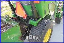 2001 John deere 4100 HST 4x4 tractor with loader and heated cab 2320 2520 4300