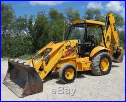 2002 JCB 214 Series 3 Backhoe Wheel Loader Tractor