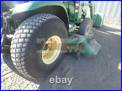 2002 John Deere 4210 Compact Tractor With Belly Mower 2 Post Rops 4x4 599 Hours