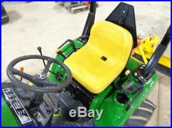 2003 John Deere 2210 Tractor, 4WD, Hydro, JD 210 Loader, 5FT 3PT Blade, 118 Hrs