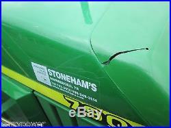 2003 John Deere 790 tractor loader, 4x4, 30hp Yanmar diesel, gear, only 211 hrs
