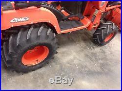 2003 KUBOTA BX22 Bx23 Bx24 Bx25 Bx2200 Tractor Loader 4wd 4x4 BACKHOE LOW HRS