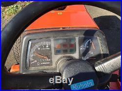 2003 Kubota B7500 Tractor Diesel 4x4 Mower Deck 60in