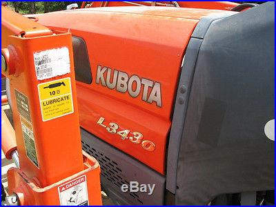 2003 Kubota L3430 Tractor, 4x4, LA723 Loader 1226 Hrs. NR