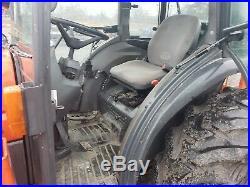 2003 Kubota L5030 Tractor 4x4 Cab Loader Backhoe