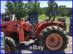 2003 Kubota M5700 4x4 Utility Tractor with Loader NEEDS WORK Coming Soon