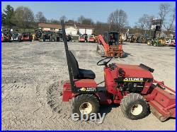 2003 Steiner 420 4x4 20Hp Gas Compact Tractor with 60 Mower & Loader Attachment