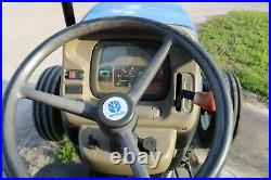 2003 TN-75 New Holland Tractor with 339 Hours 6 Box Blade Barn Kept No Re-Gen