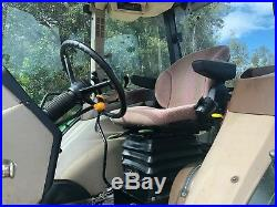 2004 JOHN DEERE 5520 Enclosed Cab Tractor AC Heat John Deere HX6 Rotary Cutter