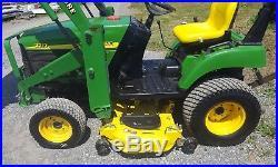 2004 John Deere 2210 Compact Loader Tractor